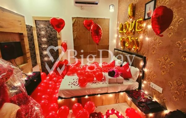 Romantic Surprise at Home, Indore