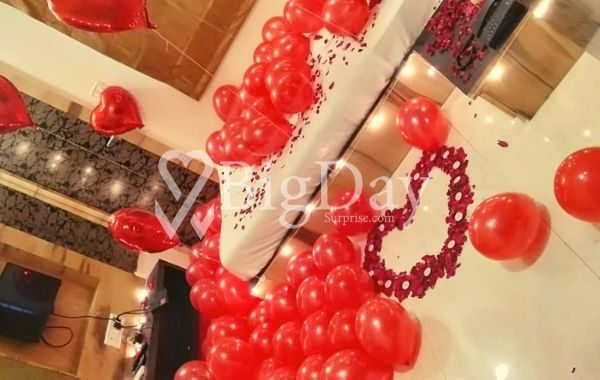 Romantic Surprise at Home, Indore 3