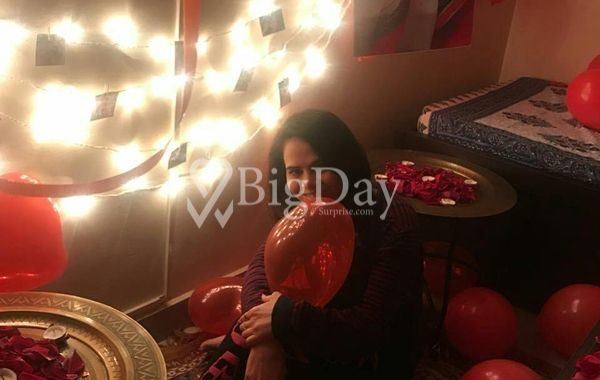Balloon Surprise Indore at home