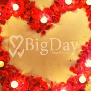 Romantic Surprise at Home, Indore 4