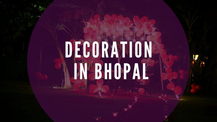 Decoration in Bhopal