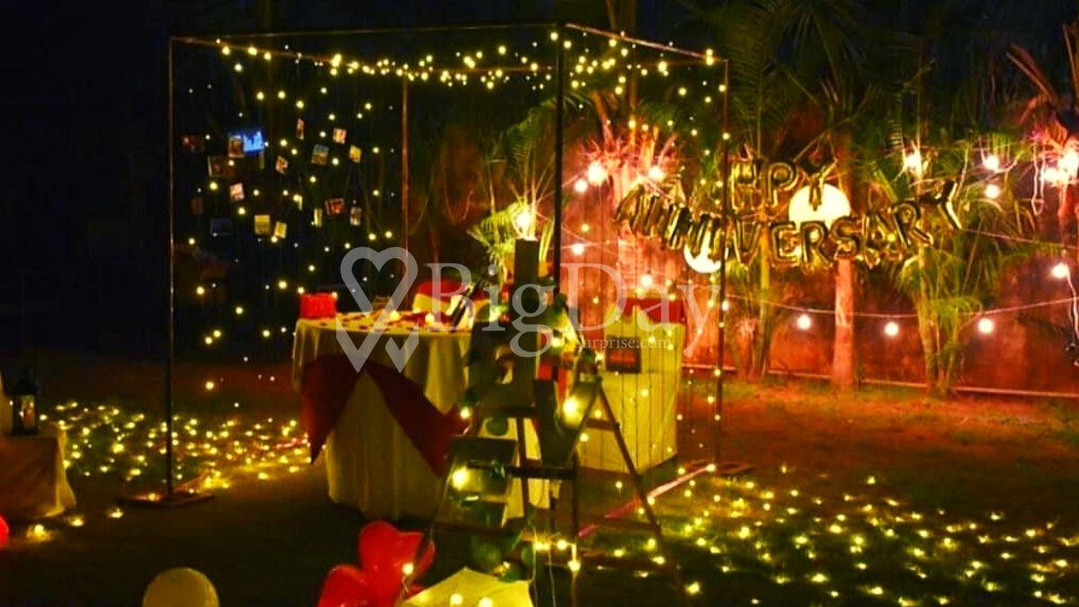 Fairy Lights Cabana in bhopal